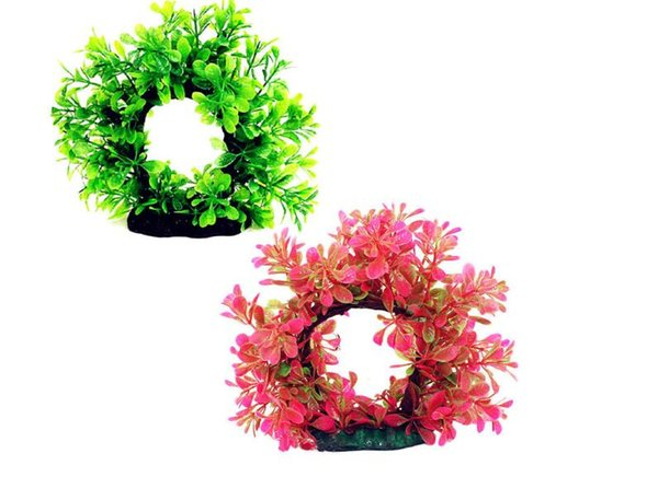 Plantes aquatiques artificielles vertes pour aquarium décor poissons accessoires de poisson fée jardin ornements paysage décoration