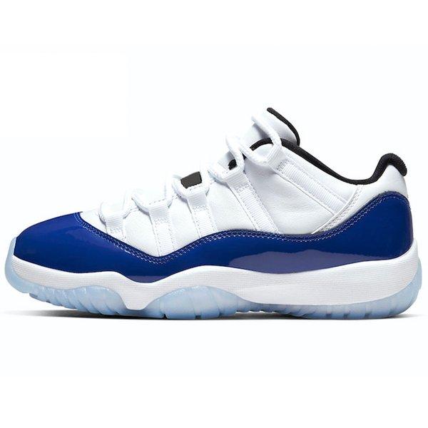 11s blau Concord.