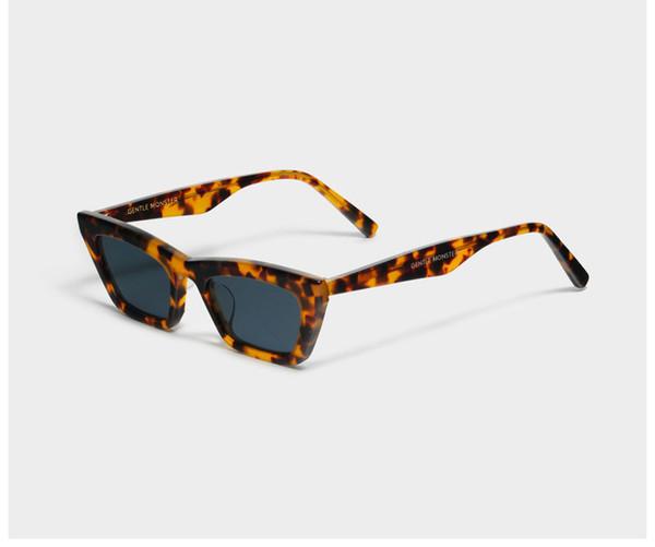 Очки 2019 нежный монстр CHAPSAL дизайн прохладный мода женщины мужчины высокое хорошее качество UV400 защиты объектива солнцезащитные очки с чехлом-де-Сол