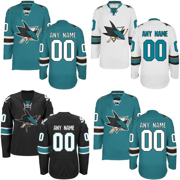buy popular 63067 d5160 2019 2017 WHOLESALE Stitched Cheap Mens San Jose Sharks Hockey Jersey  CUSTOM/CUSTOMIZED Jersey Personalized Any Name And Number From Jerseysword,  ...