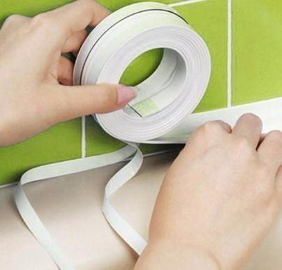 2018 useful Sealing Waterproof Proof Adhesive Tape Kitchen Bathroom 3.2mx3.8cm 2018 Dropshipping