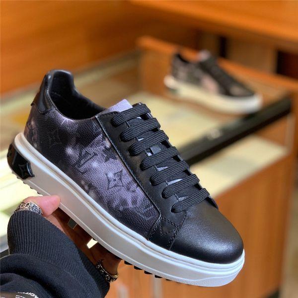 Novo Designer de sapatos de Luxo bordado branco tigre abelha cobra sapatos de Couro Genuíno Designer Sneaker Mens trainersShoes tamanho 38-45
