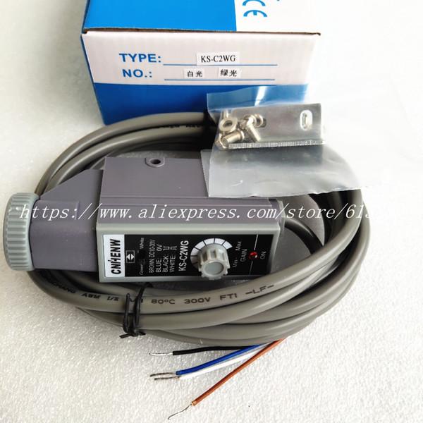 KS-C2GB KS-C2RG KS-C2WG KS-C2WB KS-C2RW CNHENW Color Code Sensor Bag Making Machine Photoelectric Switch Sensor