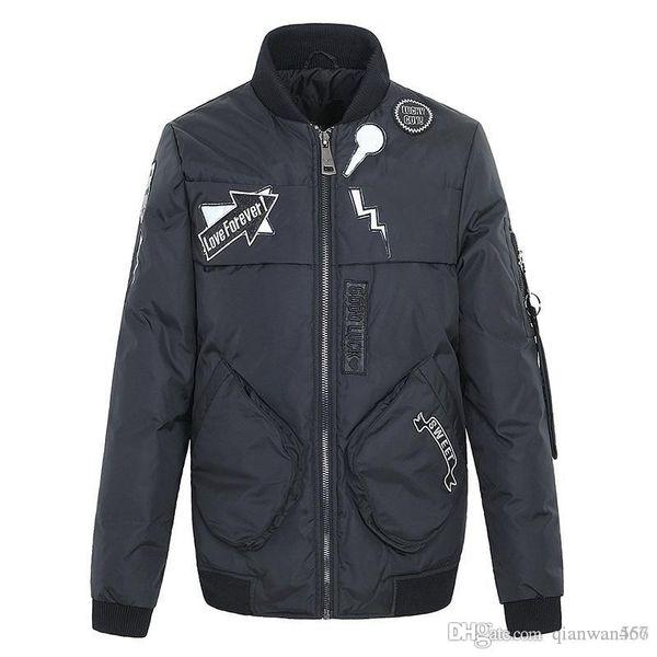 FENDIs women designer winter jacket 19ss top brand fashion down jacket high quality casual women winter coat tide brand wild winter clothing