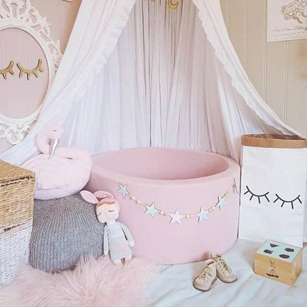 1.5m Wood Beads Tassel Hanging Bunting Garland Baby Shower Bed Room Decor