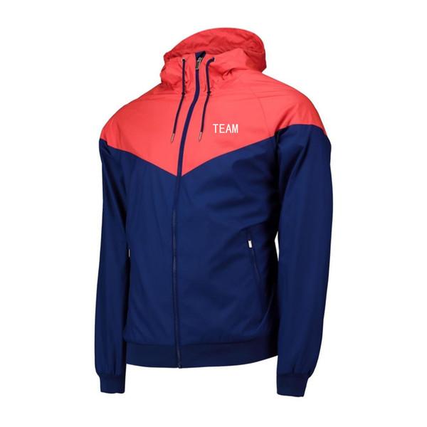 2019 Comercio al por mayor Casual Hombre Diseñador de Moda Marca Deportiva Equipo Chaquetas Club Cazadora Abrigos Correr Outwear Calidad Superior