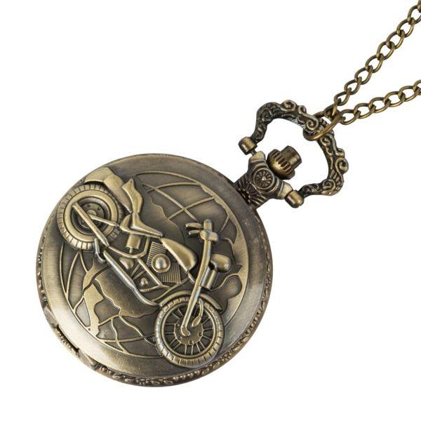 Retro Roman Numerals Steampunk Luxury Gold Skeleton Mechanical Pocket Watch Hand Winding FOB Chain Men Women Watches Gifts