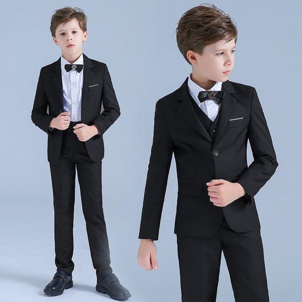 2019 Ragazzi vestiti da smoking per matrimoni Ragazzi occasionali da ragazzini Piccoli abiti da bambini Bambini Festa di nozze Abiti formali da ragazzo Custom Made