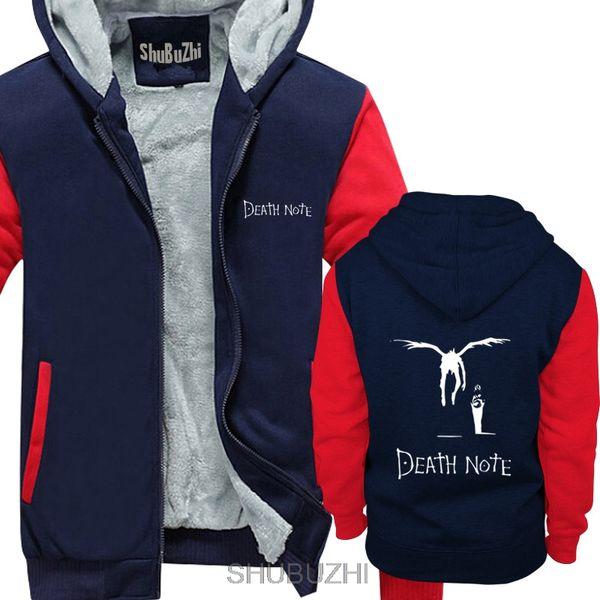 Kira Ryuk Yagami Light Shinigami Japanese Anime Manga Death Note Free Shipping Men thick hoodies warm hoodie sbz4565