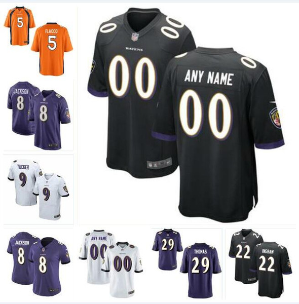 hot sale online 746a4 ec4f7 2019 Mark Ingram Earl Thomas Jersey Ravens Lamar Jackson Justin Tucker Joe  Flacco Ray Lewis Stitched Custom American Football Jerseys Cheap 7xl From  ...