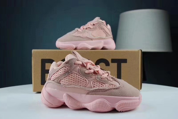 Basketball sneaker for kid boy girl fashion running shoes cheap price high quality send with box pink girl baseball shoe EU 26-35
