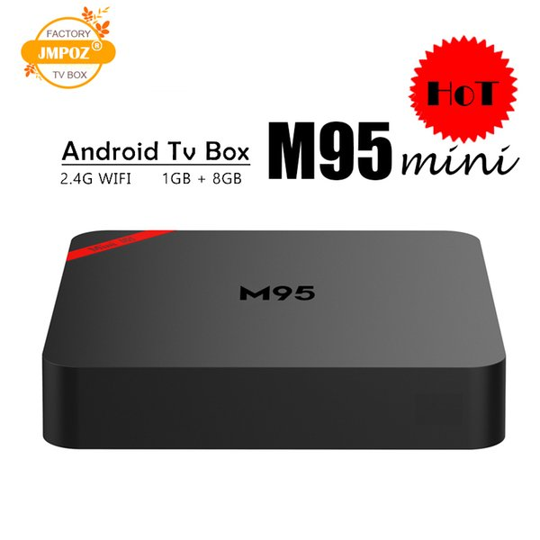 2019 Original Quad Core Android TV Box M95 MINI Quad Core 1GB 8GB 4K H.265 1080P Video Streaming H3 Android TV Boxes Better MXQ PRO RK3229