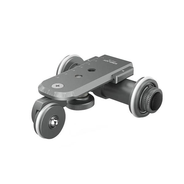 Kingjoy Ppl-06 Mini Motorized Electric Track Slider Dolly Car 3-Wheel Video Pulley Rolling Skater For Dslr Camera Camcorder