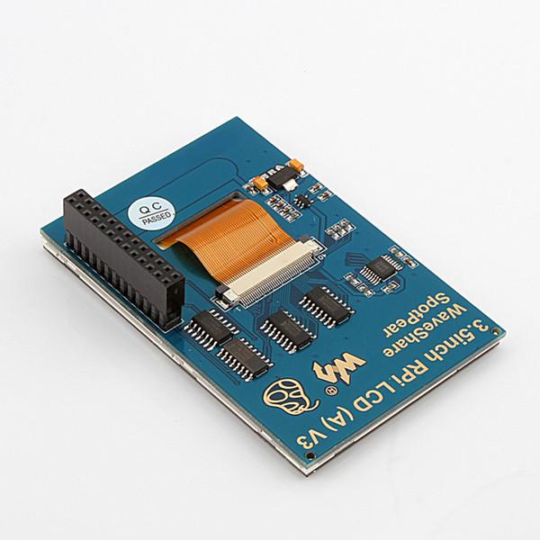 Moniteur à écran tactile TFT LCD de 3,5 pouces pour les radiateurs de boîtier Raspberry PI 3