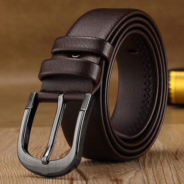 Hommes ceinture femmes haute qualité en cuir véritable noir et blanc couleur Designer Vachette Ceinture pour Hommes Ceinture pour hommes livraison gratuite