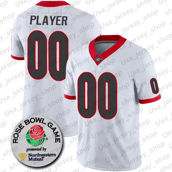 White + Rose Bowl Patch