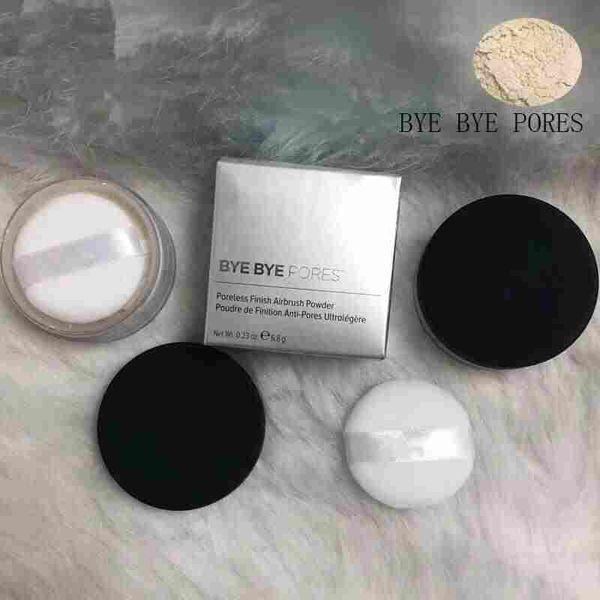 makeup Pressed Powder Bye Bye Pores pressed Poreless Finish Airbrush Powder best quality Face powder 1pcs free shipping 2018 new