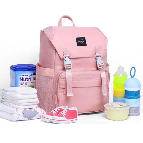 mummy maternity backpack diaper bag for stroller waterproof large shoulder bags for mom baby care bfy011