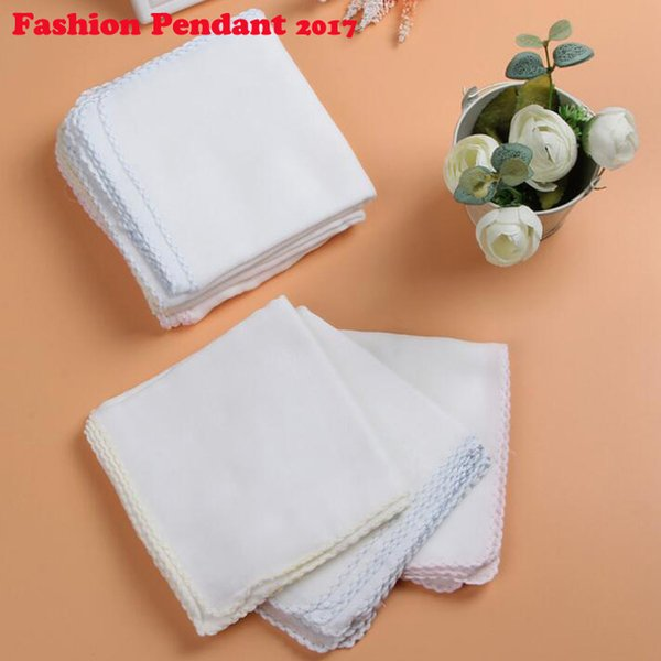 2019 White Baby Bathing Towel Vomit Milk Towel Cotton Gauze Water Absorbent Soft Baby pure cotton handkerchiefs