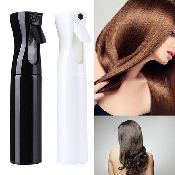 2019 Nova Mayitr 300ML Salon pulverizador de água Garrafa Cabelo Beleza cabeleireiro fino da névoa do pulverizador de água Garrafas DIY barbeiro do salão Ferramentas