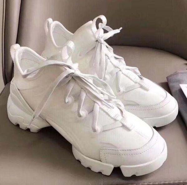 Designer chaussures Floral Hommes Mode Femmes Chaussures de sport en néoprène Ruban D-Grosgrain Connect chaussures Lady wrap-around Semelle en caoutchouc Chaussures Casual n2