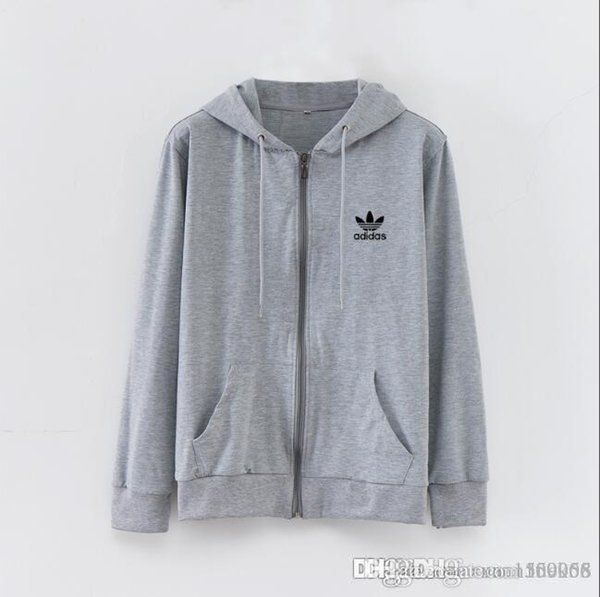 Men's cardigans and hoodies spring and autumn sports casual men's hooded coats