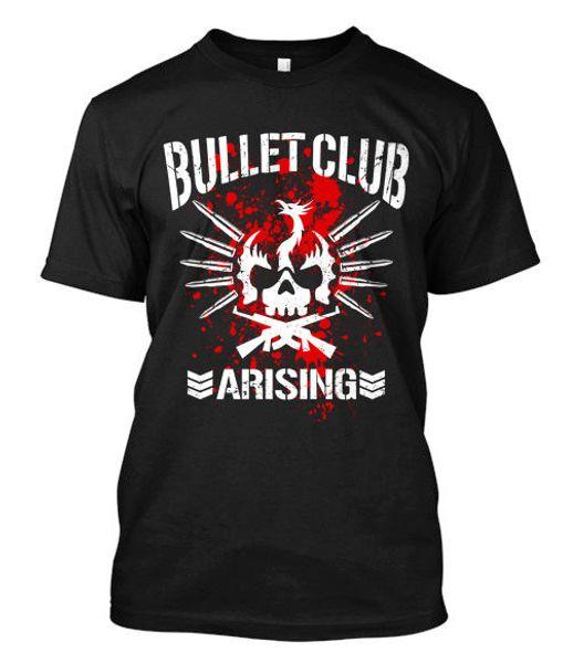 ARISING BULLET CLUB NJPW - custom t-shirt tee Short Sleeves Cotton Fashion T Shirt Free Shipping