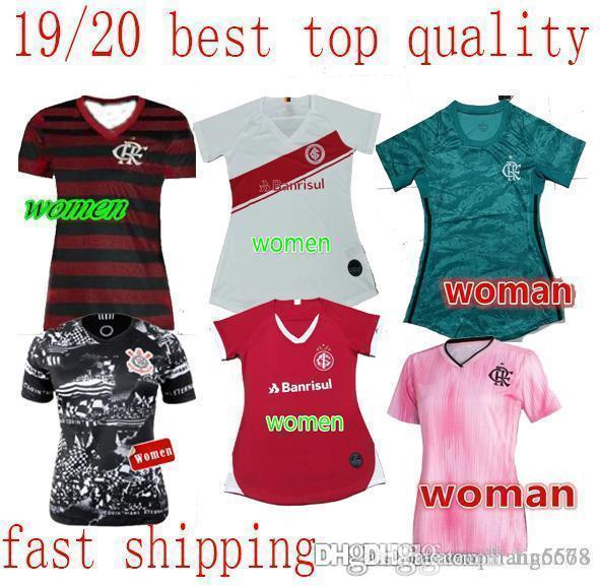 2020 Gremio Mujer del fútbol Jersey 2019 20 Uniforme Geromel KANNEMANN fútbol Señora LUAN casa Fuera Camiseta del fútbol femenino