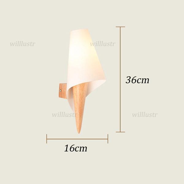 la lámpara de pared