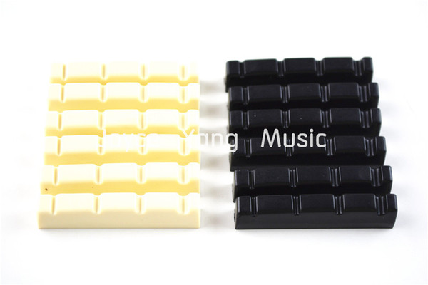 best selling Alice 4-String Bass Nuts A029A Ivory&Black Electric Bass Nuts Free Shipping Wholesales