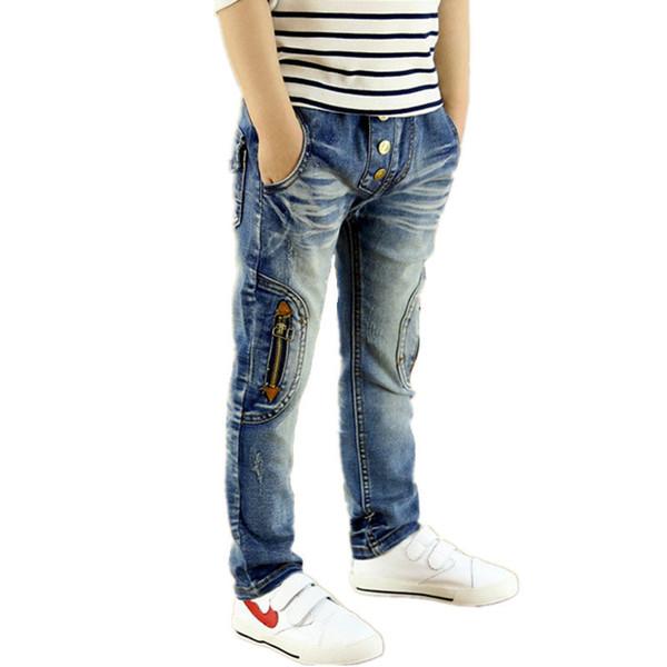 Spring Autumn Boys Jeans Trousers Enfant Roupas Infantis Menina Children Clothing Denim Casual Cowboys Clothes Baby Boy Pants