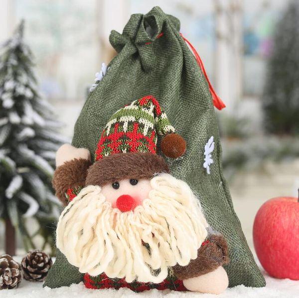 # 1 Weihnachts Kordelzug Gift Bag