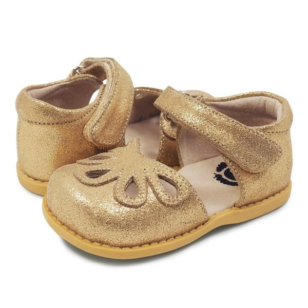 Tipsietoes Top Brand 100% Soft Leather Petal In Summer New Boys And Girls Children Beach Shoes Kids Sport Flat Sandals Hot Sale Y190525