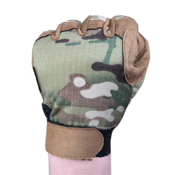 2018 new hunting shooting climbing gloves tactical lightweight camouflage glove airsoft wargame em5368 multicam ing thumbnail