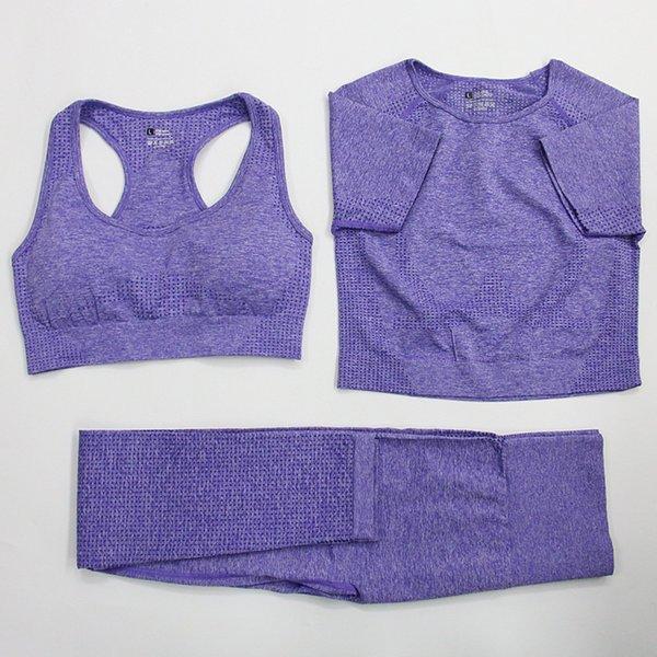 Фиолетовый 3 шт