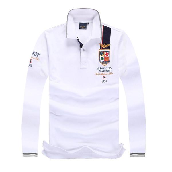 Мужская одежда с длинными рукавами дизайнерские рубашки поло 2019 Новое поступление осень и зима повседневная футболка Мужская футболка