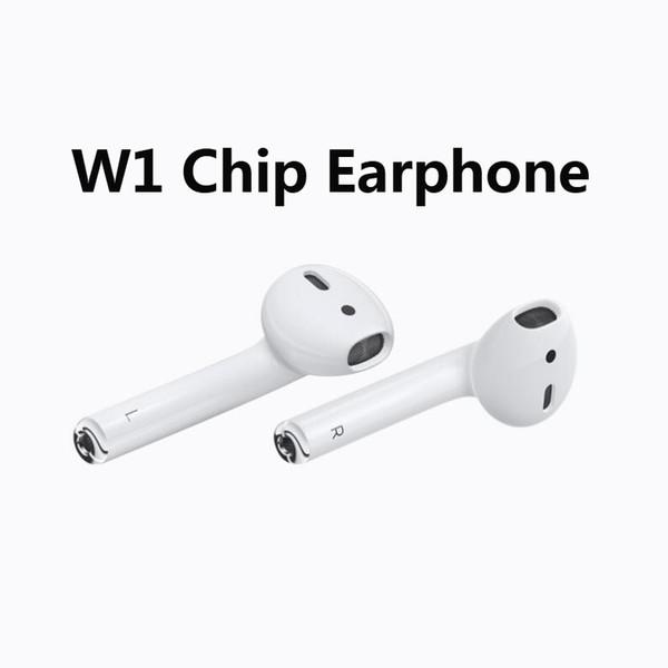 La funda para auriculares Bluetooth de primera calidad para W1 Chip funciona Control por voz táctil Conectar a iCloud