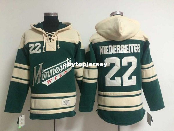 watch a0a7f 0daab 2019 Minnesota Wild Jersey Sweatshirts Mens Ice Hockey Hoodies #22 Nino  Niederreiter Green Ice Hockey Jersey 4268 From Hytopjersey, $38.87 | ...