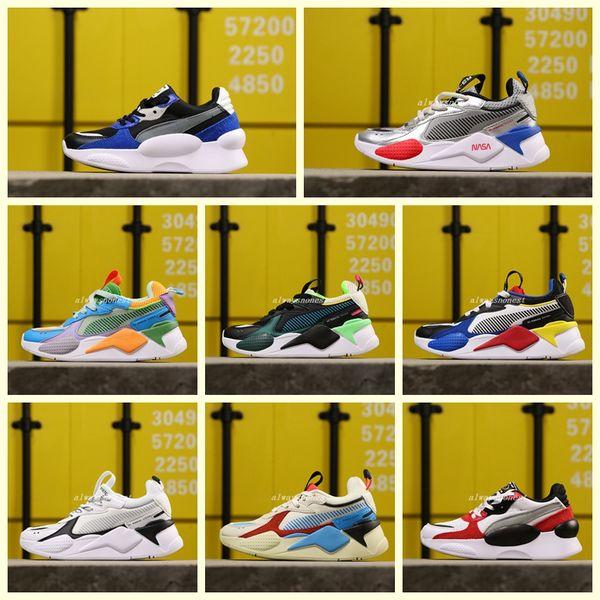 2020 Creepers haute RS-X Réinvention Jouets qualité Chaussures enfants Designer Running W Basketball garçon fille Sneakers Casual Taille 28-35