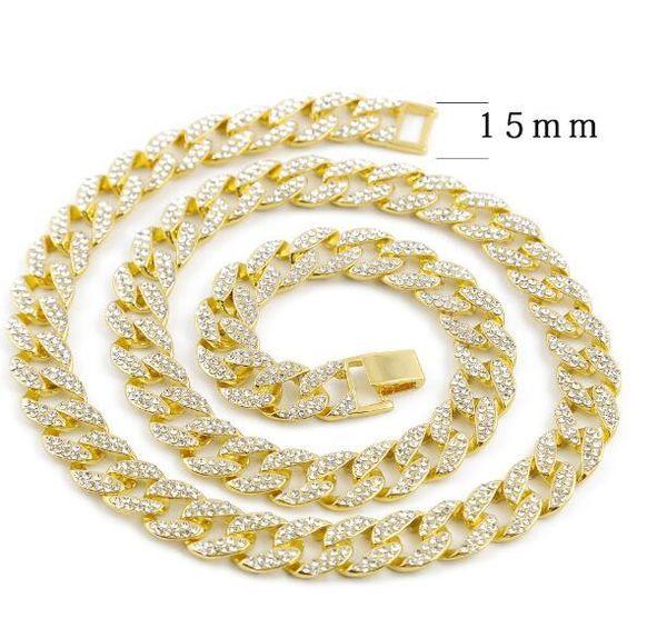 Золотое ожерелье-18 дюймов