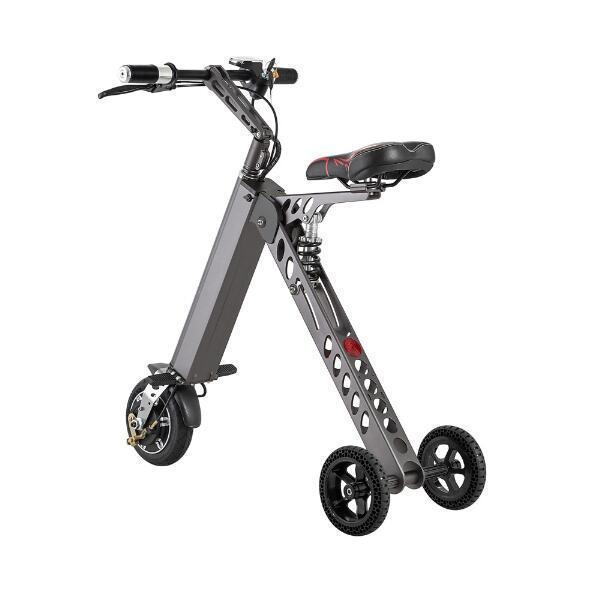 top popular 3 Wheel Foldable Electric Scooter Portable Mobility folding electric bike lithium battery bicycle 2020