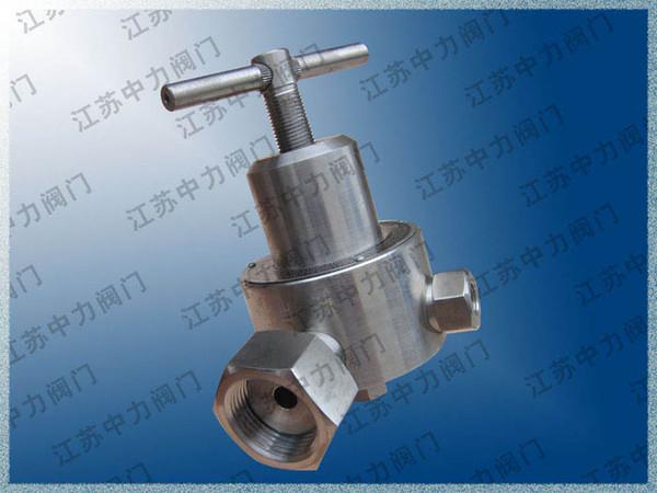 High pressure stainless steel pressure reducing valve TYT-1