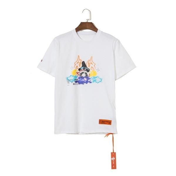 19SS Best HERON PRESTON Logotipo impreso con bordado de letras Camiseta Oversized Tee Moda Casual suelta Hombres Mujeres Camiseta de manga corta HFTTTX067