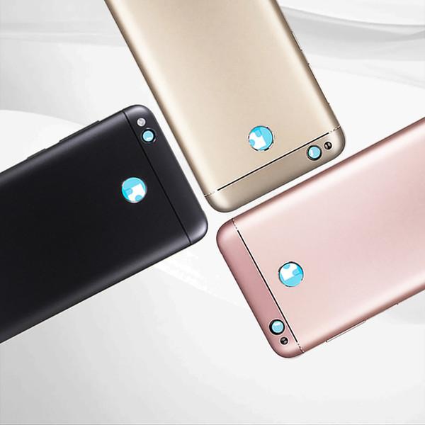 Voltar habitação para Xiaomi redmi 4X Caso tampa da bateria tampa traseira com o Volume Botão de Energia / Camera Lens Para redmi 4X Tampa