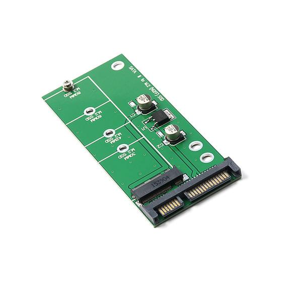 "top popular 5pcs lot SATA3 M.2 Card ( M2 ) SSD to 2.5"" SATA Adapter M.2 2.5 inch NGFF SSD to SATA3 Convert Card 2021"