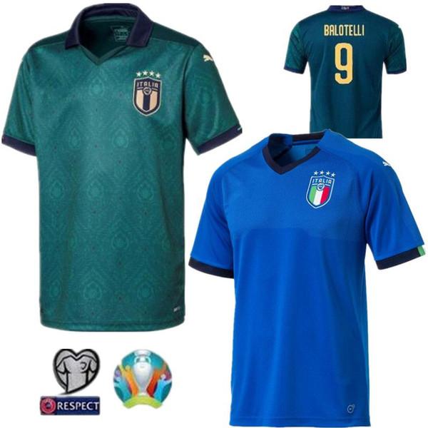 2019 20 Itália Copa do Mundo Início Adultos Futbol Camisa Totti Pirlo Insigne Del Piero Futebol Italia do futebol camiseta Camisa Kit Maillot