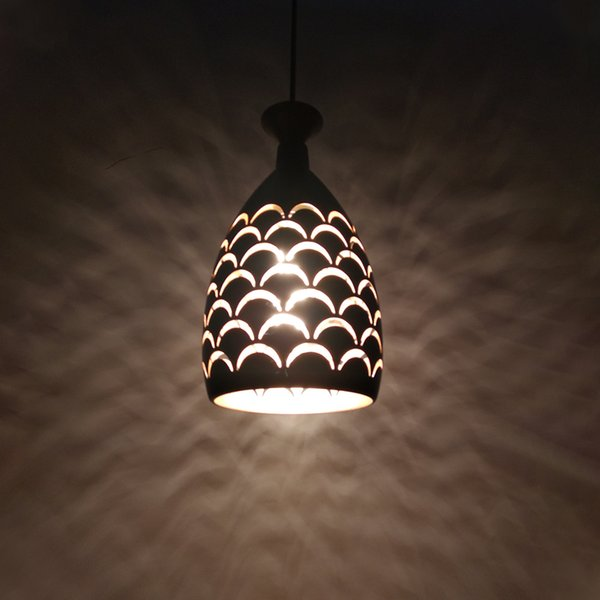 Vintage Retro Edison Pendant iron lampshade Table Ceiling chandelier cover DIY lighting shade industrial Nordic art decoration