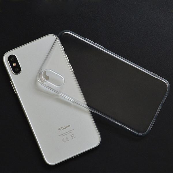 Funda iPhone 5/5S/SE caso TPU transparente silicona Concha blanda