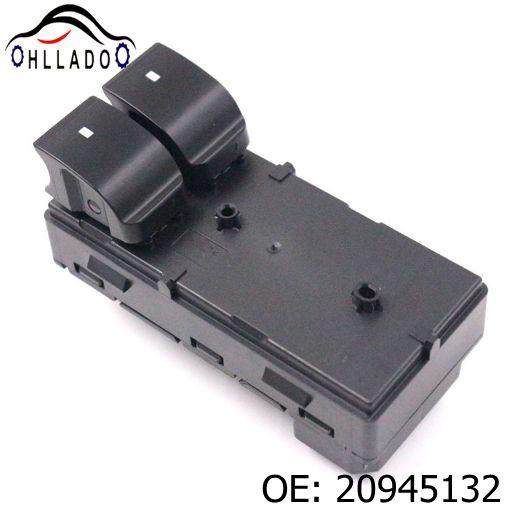 best selling HLLADO New 20945132 Front Driver Side Power Window Control Switch 20945132 For 2007-2014 C hevrolet Silverado Car Accessories