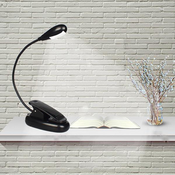 De Brillante USB De Cabecera Luces Lectura De Sujeción Batería Portátil Libro Lámpara Para Pinza En Luz Recargables De De Libro Flexible Compre LED WEDbH2IYe9